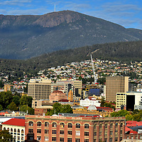 Cityscape of Hobart, Australia <br />