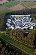 Nederland, Zuid-Holland, Rotterdam 19-09-2009; Poortugaal, Forensisch Psychiatrisch Centrum de Kijvelanden,  beveiligde particuliere kliniek voor tbs-patienten, forensische psychiatrie.The Forensic Psychiatric Center Kijvelanden, secure private clinic for TBS-patients and forensic psychiatry.luchtfoto (toeslag), aerial photo (additional fee required).foto/photo Siebe Swart
