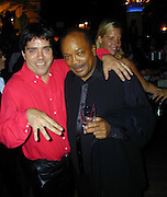 Andy Hillfiger and Quincy Jones<br />