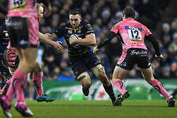 December 16, 2017 - Dublin, Ireland - Jack Conan from Leinster team during Leinster vs Exeter Chiefs - the  European Rugby Champions Cup rugby match at Aviva Stadium...On Saturday, 16 December 2017, in Dublin, Ireland. (Credit Image: © Artur Widak/NurPhoto via ZUMA Press)