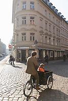 School run in Berlin.
