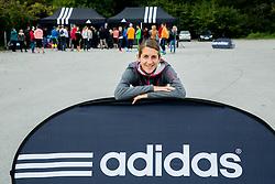 Athletes Zana Jereb at Adidas Tekaski kamp 2014, on October 4, 2014 in Celje, Slovenia. Photo by Vid Ponikvar / Sportida.com