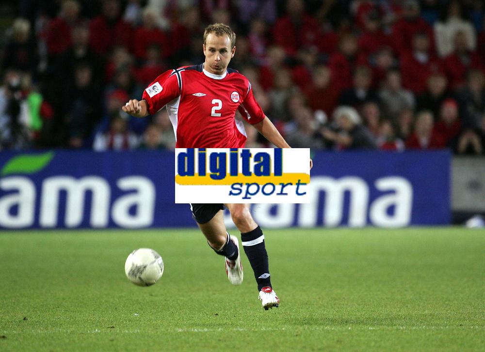 Fotball<br /> VM-kvalifisering<br /> Norge v Hviterussland<br /> Ullevaal stadion<br /> 8. september 2004<br /> Foto: Digitalsport<br /> Jon Inge Høiland, Norge