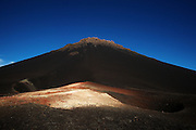Pico Fogo, the country's highest mountain, an active volcano towering at 2,829m (9,281 feet) in the Fogo national park on Fogo island, Cape Verde on Wednesday January 6, 2010..