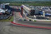 September 16-18, 2015 Lamborghini Super Trofeo, Circuit of the Americas: Start of round 7 at Circuit of the Americas