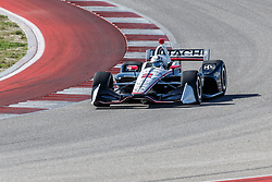 February 12, 2019 - U.S. - AUSTIN, TX - FEBRUARY 12: Josef Newgarden (2) in a Chevrolet powered Dallara IR-12 exits turn 2 during the IndyCar Spring Training held February 11-13, 2019 at Circuit of the Americas in Austin, TX. (Photo by Allan Hamilton/Icon Sportswire) (Credit Image: © Allan Hamilton/Icon SMI via ZUMA Press)