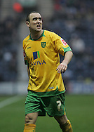Preston - Saturday February 14th, 2009: Lee Croft of Norwich City wonders where the goal is going to come from against Preston North End in the Coca Cola Championship match at Deepdale, Preston. (Pic by Michael Sedgwick/Focus Images)