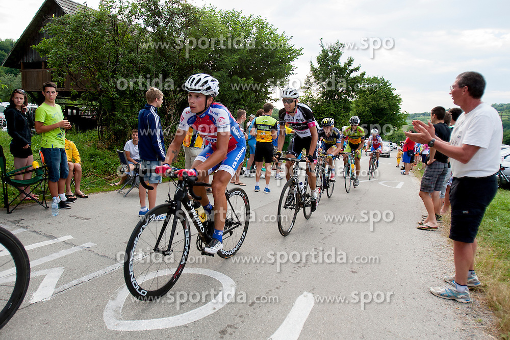 Primoz Rogljic of Adria Mobil during Slovenian National Championship in Road Cycling, on June 23, 2013, in Gabrje, Slovenia. (Photo by Urban Urbanc / Sportida.com)