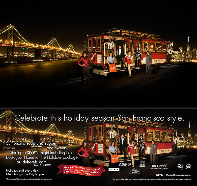 2009 Holiday In the City Campaign