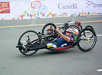 8 August 2015: TO2015 Panam Games, Cycle road race, William Lachenauer (USA) competes in the H3-M cycle road race, Ontario Place