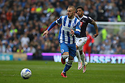 Brighton striker Jiri Skalak (38) during the Sky Bet Championship match between Brighton and Hove Albion and Derby County at the American Express Community Stadium, Brighton and Hove, England on 2 May 2016. Photo by Phil Duncan.