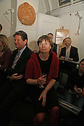 Penelope Marcus, Book Launch of ' School of Genius' by James Fenton. Life Room of the Royal academy Schools. Royal academy of arts. London W1. 6 April 2006. ONE TIME USE ONLY - DO NOT ARCHIVE  © Copyright Photograph by Dafydd Jones 66 Stockwell Park Rd. London SW9 0DA Tel 020 7733 0108 www.dafjones.com
