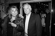 EVE POLLARD; NICK LLOYD,  Richard Compton Miller birthday, The Apartment @ The Hoxton, Great Eastern Street,  London. 21 March 2015.