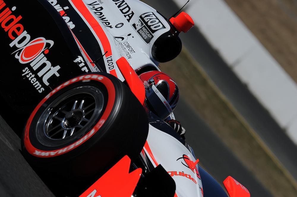 Helio Castroneves, Indy Grand Prix of Sonoma, Infineon Speedway, Sonoma, CA USA 8/28/2011