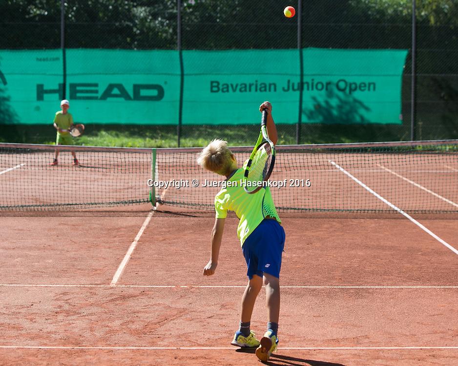 Bavarian Junior Open, Dreiviertel Feld Turnier<br /> <br /> Tennis - Bavarian Junior Open 2016 -  -  SC Eching - Eching - Bayern - Germany  - 13 August 2016. <br /> &copy; Juergen Hasenkopf