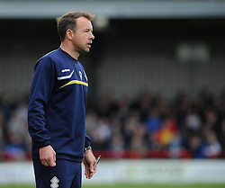 Bristol Rovers assistant manager, Marcus Stewart - Photo mandatory by-line: Dougie Allward/JMP - Mobile: 07966 386802 05/04/2014 - SPORT - FOOTBALL - Kingston upon Thames - Kingsmeadow - AFC Wimbledon v Bristol Rovers - Sky Bet League Two