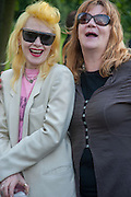 PAM HOGG; GINA BIRCH ( THE RAINCOATS ), Yoko Ono.- to the Light. Serpentine Gallery. London. 19 June 2012.
