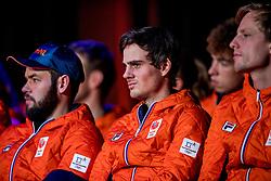 02-01-2018 NED: PloegpresentatieTeamNL, Arnhem<br /> Het Olympisch Team tijdens de teamoverdracht van Olympic en Paralympic TeamNL voor de Olympische Spelen van Pyeongchang / Jan Smeekens
