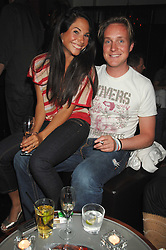 PIERS BECKWITH and GERALDINE VAN DER MAST  at a party to launch the new upstairs area of Mamilanji, 107 Kings Road, London SW3 on 19th April 2007.<br /> <br /> NON EXCLUSIVE - WORLD RIGHTS
