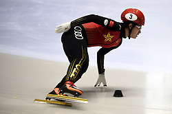 February 8, 2019 - Torino, Italia - Foto LaPresse/Nicolò Campo .8/02/2019 Torino (Italia) .Sport.ISU World Cup Short Track Torino - 1000 meter Ladies Preliminaries.Nella foto: Jinyu Li..Photo LaPresse/Nicolò Campo .February 8, 2019 Turin (Italy) .Sport.ISU World Cup Short Track Turin - 1000 meter Ladies Preliminaries.In the picture: Jinyu Li (Credit Image: © Nicolò Campo/Lapresse via ZUMA Press)