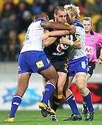 Warriors' Simon Mannering during the 2013 NRL season. Vodafone Warriors v Canterbury Bulldogs at Westpac Stadium, Wellington, New Zealand on Saturday 11 May 2013. Photo: Justin Arthur / photosport.co.nz