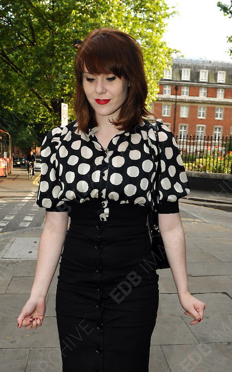 16.JUNE.2009.LONDON<br /> <br /> KATE NASH ARRIVING AT SADDLERS WELLS THEATRE, ISLINGTON FOR THE OPENING NIGHT OF THE ENGLISH BALLET'S 100TH BIRTHDAY SEASON.<br /> <br /> BYLINE MUST READ: EDBIMAGEARCHIVE.COM<br /> <br /> *THIS IMAGE IS STRICTLY FOR UK NEWSPAPERS & MAGAZINE ONLY*<br /> *FOR WORLDWIDE SALES OR WEB USE PLEASE CONTACT EDBIMAGEARCHIVE-0208 954 5968*