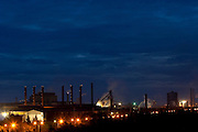 Ouro Branco_MG, Brasil...Vista panoramica de uma siderurgica em Ouro Branco...The panoramic view of a steel industry in Ouro Branco...Foto: LEO DRUMOND / NITRO