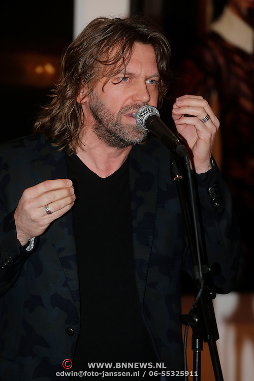 NLD/Amsterdam/20130301 - Perspresentatie Jesus Christ Superstar, Martin van der Starre
