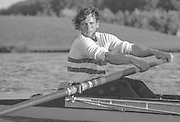 Nottingham. United Kingdom. <br /> Martin CROSS.<br /> Nottingham International Regatta, National Water Sport Centre, Holme Pierrepont. England<br /> <br /> 31.05.1986 to 01.06.1986<br /> <br /> [Mandatory Credit: Peter SPURRIER/Intersport images] 1986 Nottingham International Regatta, Nottingham. UK
