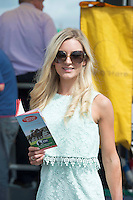 03/08/2014 Lynsey Kiely from Swords at the Final day of the Galway Racing Summer Festival. Photo:Andrew Downes