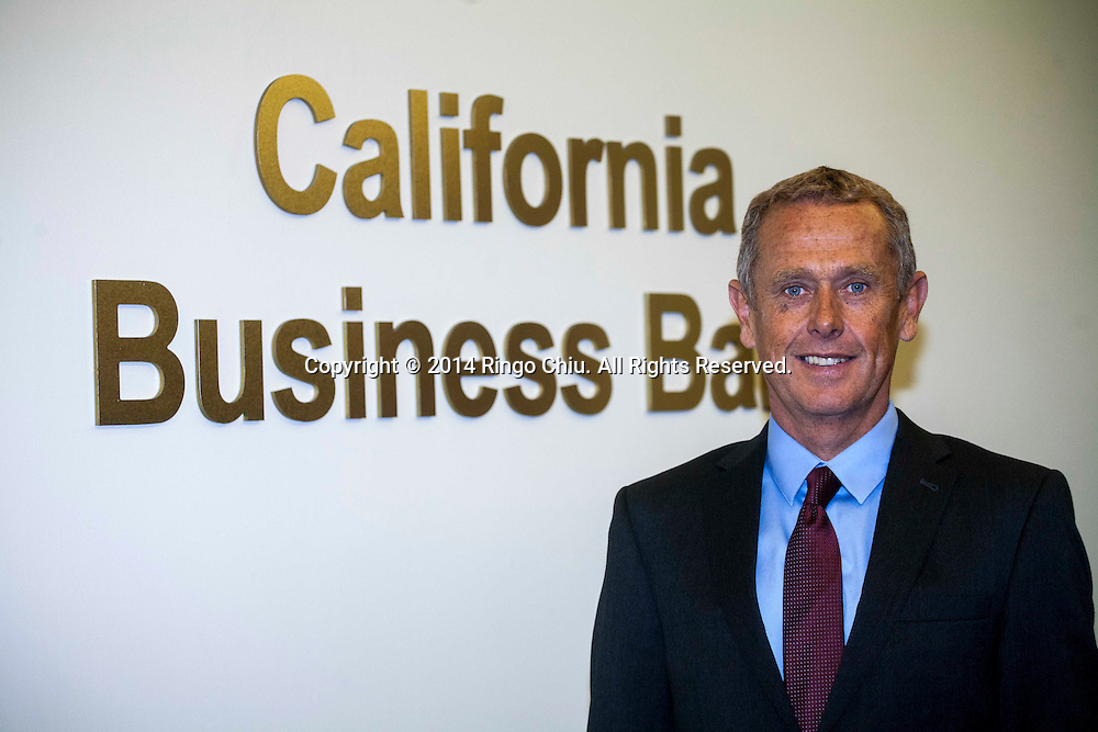 Adriaan Van Zyl, CEO of California Business Bank.  (Photo by Ringo Chiu/PHOTOFORMULA.com)