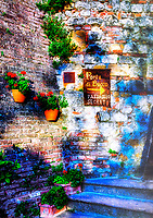 """Port of Bacchus secret passage Montepulciano""…<br />