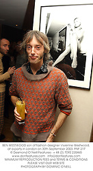 BEN WESTWOOD son of fashion designer Vivienne Westwood, at a party in London on 30th September 2003.PNF 217