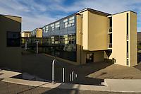 Brekkuskóli Childrens School at Akureyri, North Iceland. Brekkuskóli á Akureyri.