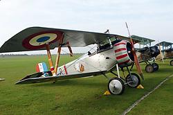 Nieuport 17, (1917)The Great War, 1914-18 Aircraft, , The Duxford Air Show, 14th September 2014
