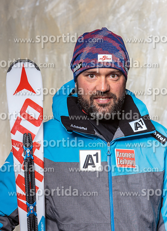 08.10.2016, Olympia Eisstadion, Innsbruck, AUT, OeSV Einkleidung Winterkollektion, Portraits 2016, im Bild Zöchling Hannes, Ski Alpin Damen // during the Outfitting of the Ski Austria Winter Collection and official Portrait Photoshooting at the Olympia Eisstadion in Innsbruck, Austria on 2016/10/08. EXPA Pictures © 2016, PhotoCredit: EXPA/ JFK