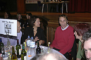 India Knight and Will Self, THE RAPT QUIZ, 13 November  2006, Hammersmith Town Hall. ONE TIME USE ONLY - DO NOT ARCHIVE  © Copyright Photograph by Dafydd Jones 66 Stockwell Park Rd. London SW9 0DA Tel 020 7733 0108 www.dafjones.com