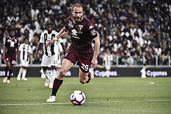 May 3, 2019 - Torino, Torino, Italia - Foto LaPresse - Marco Alpozzi.03 Maggio 2019 Torino, Italia .Sport.Calcio.Juventus Fc vs Torino Fc - Campionato di calcio Serie A TIM 2018/2019 - Allianz Stadium..Nella foto: Lorenzo De Silvestri (Torino Fc); ..Photo LaPresse - Marco Alpozzi.May 03, 2019 Turin, Italy.sport.soccer.Juventus Fc vs Torino Fc - Italian Football Championship League A TIM 2018/2019 - Allianz Stadium..In the pic: Lorenzo De Silvestri  (Credit Image: © Marco Alpozzi/Lapresse via ZUMA Press)