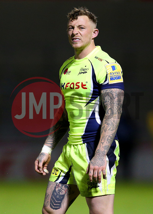 Josh Charnley of Sale Sharks - Mandatory by-line: Matt McNulty/JMP - 15/09/2017 - RUGBY - AJ Bell Stadium - Sale, England - Sale Sharks v London Irish - Aviva Premiership