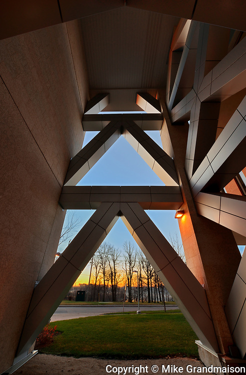 Pembina Hall. University of Manitoba. Raymond S.C. Wan, Architect, Winnipeg, Manitoba, Canada