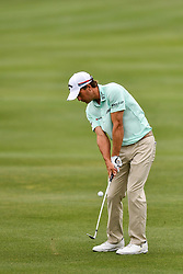 March 24, 2018 - Austin, TX, U.S. - AUSTIN, TX - MARCH 24: Kevin Kisner hits from the fairway during the Round of 16 for the WGC-Dell Technologies Match Play on March 24, 2018 at Austin Country Club in Austin, TX. (Photo by Daniel Dunn/Icon Sportswire) (Credit Image: © Daniel Dunn/Icon SMI via ZUMA Press)