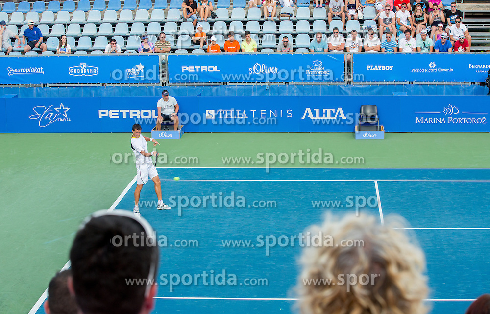 Evgeny Donskoy of Russia during Day 6 of ATP Challenger Tilia Slovenia Open 2014 on July 12, 2014 in Tennis stadium SRC Marina, Portoroz / Portorose, Slovenia. Photo by Vid Ponikvar / Sportida