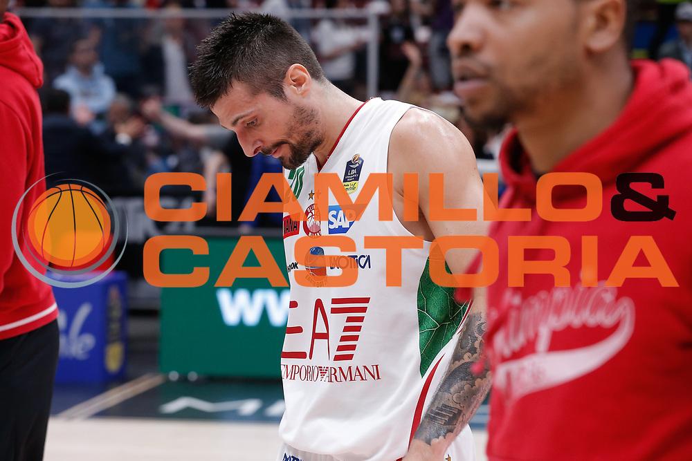 Cinciarini Andrea<br /> EA7 Olimpia Milano - VL Pesaro<br /> Legabasket Serie A 2017/18<br /> Milano, 29/04/2018<br /> Foto MarcoBrondi / Ciamillo-Castoria