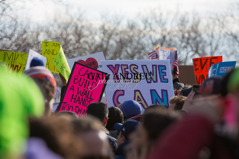 March and Rally: We Will End the Refugee and Muslim Ban