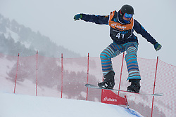 EGEA ZABALZA Urko, Snowboarder Cross, 2015 IPC Snowboarding World Championships, La Molina, Spain