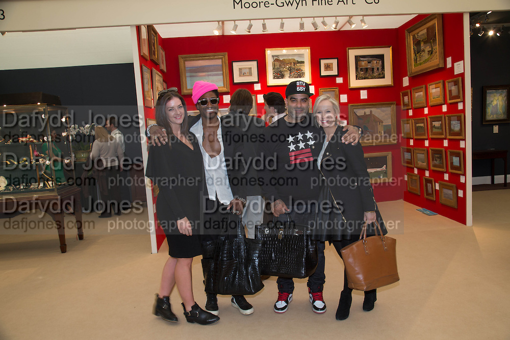 PATRICE NOBLE; THOMAS K; SOD XENI; SIOBHAN QUENBY, Clair Watson and 1stdibs' CEO David Rosenblatt host a special  preview of  Art Antiques London, Albert Memorial West Lawn, Kensington Gardens, London, SW7 Art Antiques London, Albert Memorial West Lawn, Kensington Gardens, London, 17 June 2013.