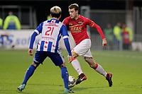 (L-R) *Yuki Kobayashi* of SC Heerenveen, *Thomas Ouwejan* of AZ Alkmaar
