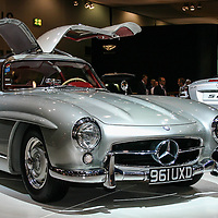 Mercedes-Benz 300 SL Gullwing (1955-1957) at the London Motor Show 2006 at Excel