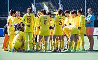 BREDA - team China  tijdens Spanje-China bij de 4 Nations Trophy dames 2018 .  COPYRIGHT  KOEN SUYK