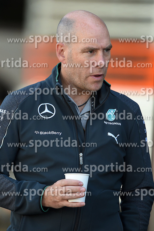 06.09.2014, Autodromo di Monza, Monza, ITA, FIA, Formel 1, Grand Prix von Italien, Qualifying, im Bild Jock CLear (GBR) Mercedes AMG F1 Engineer. // during the Qualifying of Italian Formula One Grand Prix at the Autodromo di Monza in Monza, Italy on 2014/09/06. EXPA Pictures &copy; 2014, PhotoCredit: EXPA/ Sutton Images<br /> <br /> *****ATTENTION - for AUT, SLO, CRO, SRB, BIH, MAZ only*****